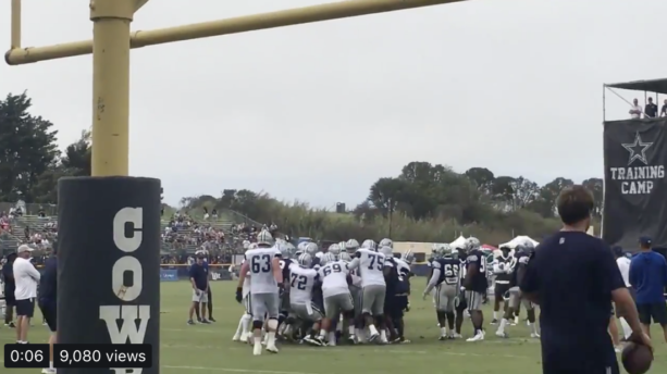 Dallas Cowboys Already Fighting With Each Other In Training Camp