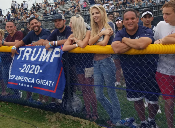 """Cowboys' Fans Show Up To Camp With """"Trump 2020"""" Banner (PICS)"""