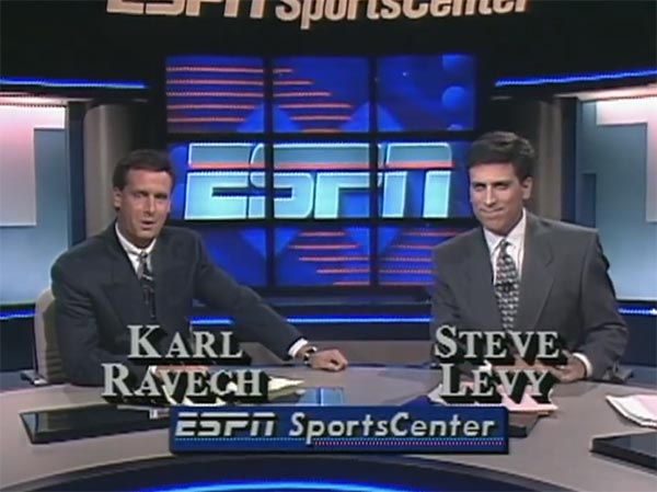 WATCH: ESPN's Steve Levy's Co-Workers Remember 'bulging disc' Comment In Funny Tribute Video