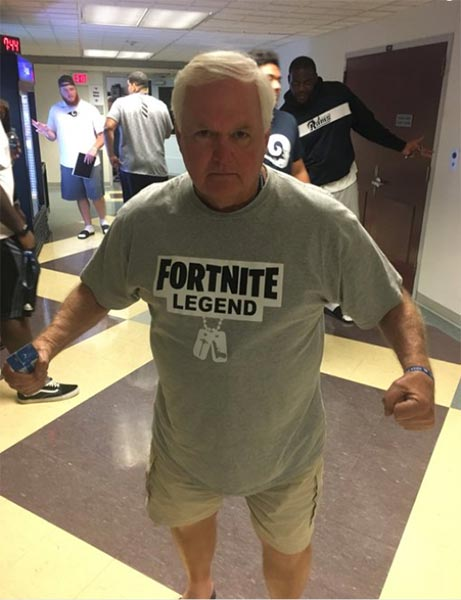 Wade Phillips Is A 'Fortnite' Legend?
