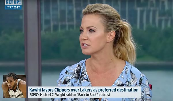 Michelle Beadle Bashes Kawhi Leonard: 'What are you doing with your career?'