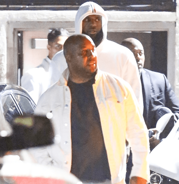 LeBron James Caught Hollering At Girls Late Last Night In LA