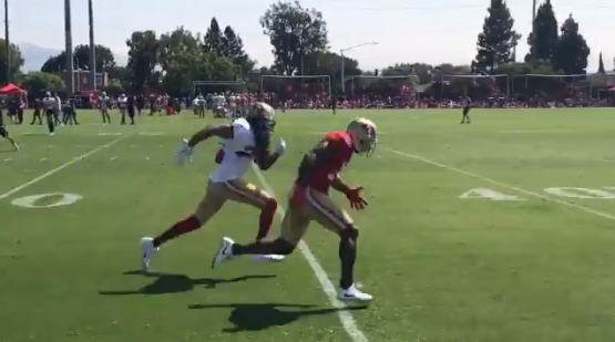 Richard Sherman Still Getting Burned By WRs During Practice (VIDEO)
