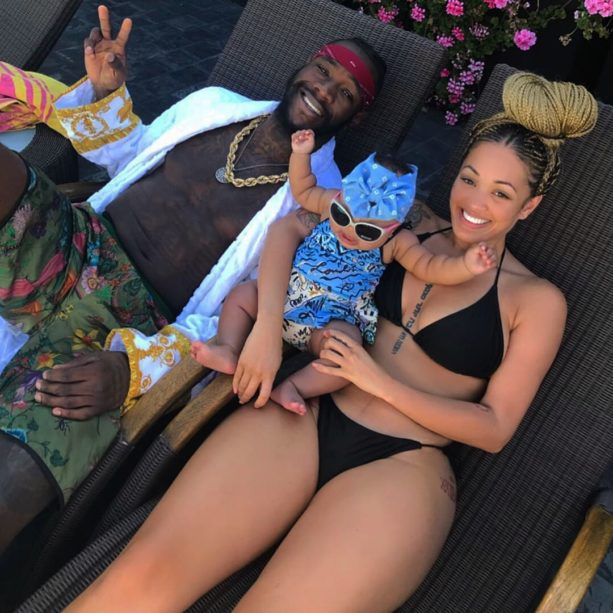 Deontay Wilder's Baby Momma Looking Good After Losing Baby Weight