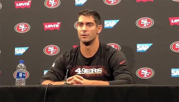 "Jimmy Garoppolo Says His Date With Kiara Mia Was A ""Good Learning Experience"""