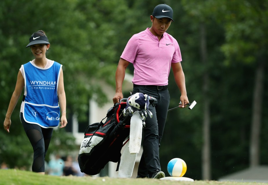 PGA Tour Pro C.T. Pan Lucky To Still Be Married After Comments About Wife's Caddying