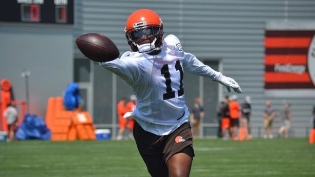 Browns WR Antonio Callaway Cited For Marijuana Possession
