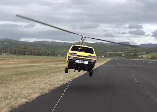 Video- Flying 3 Wheeled Car