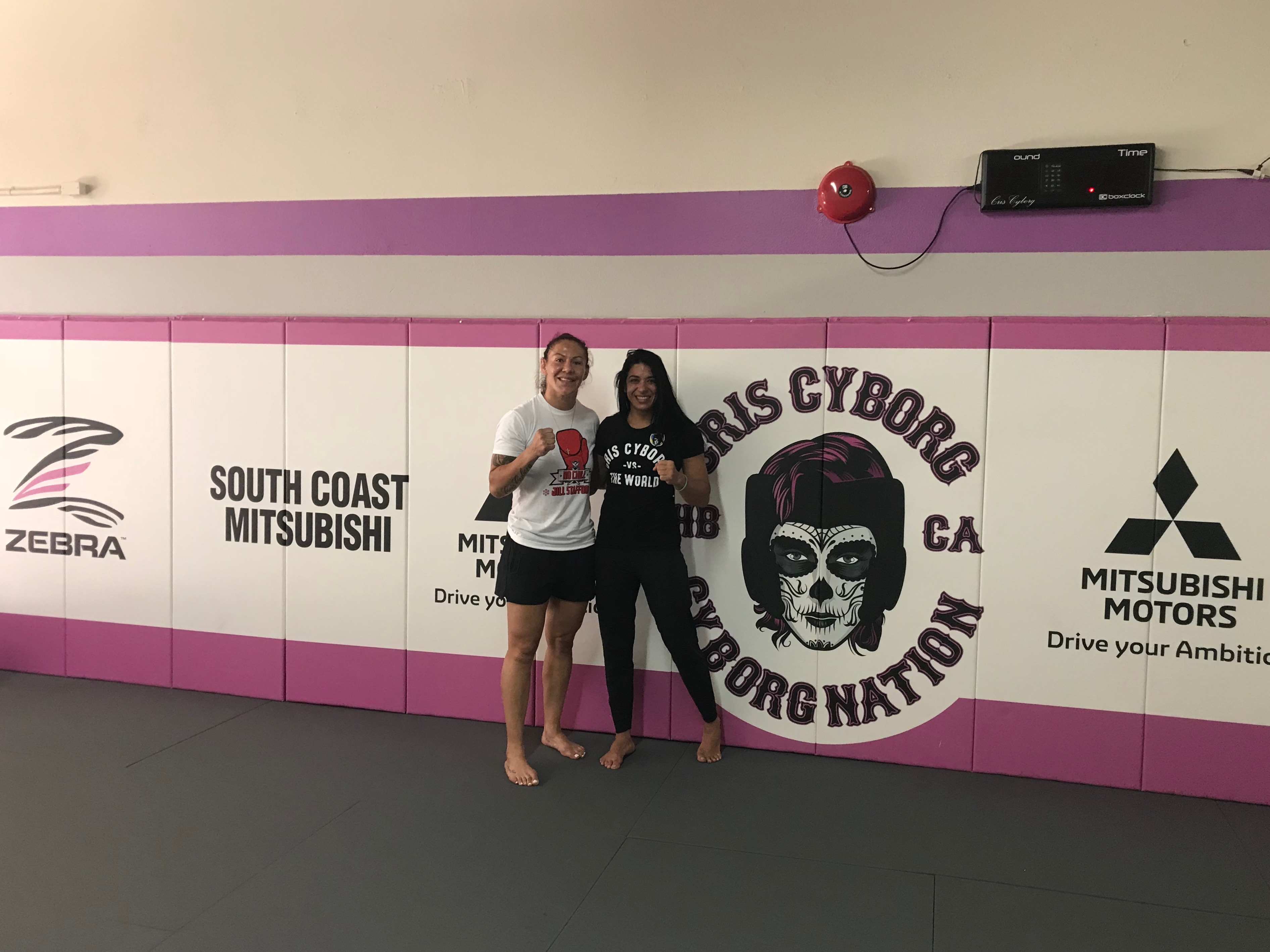 Cris Cyborg Brings Only Girl To Submit Amanda Nunes To Camp