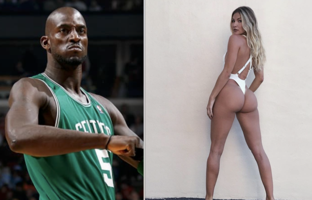 Kevin Garnett's Rumored Side Girl Revealed