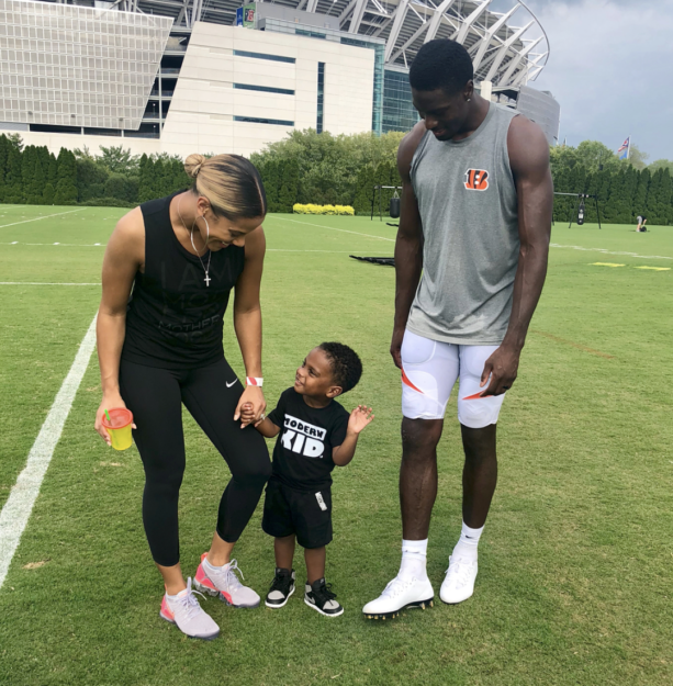 AJ Green And Wife Having Baby Number 2