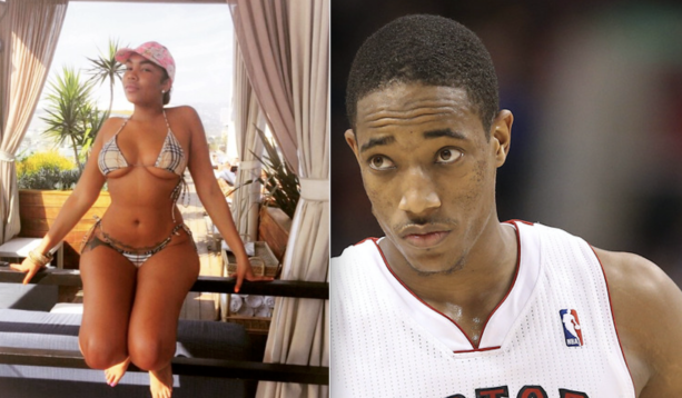 Demar DeRozan Has A New Girlfriend