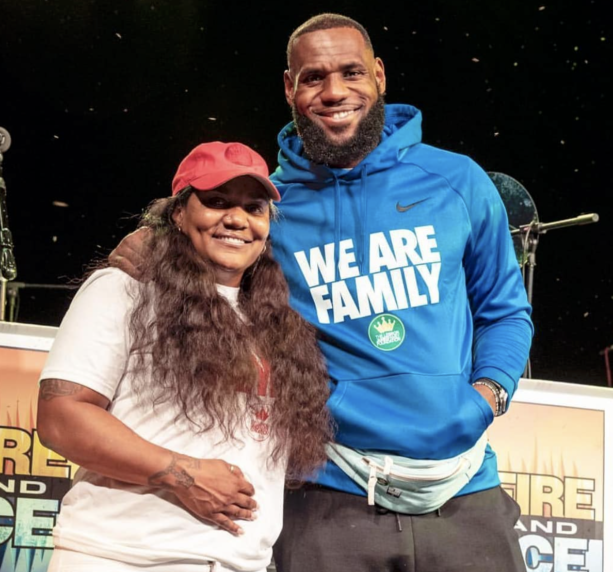 LeBron And His Family Hit Cedar Point Amusement Park