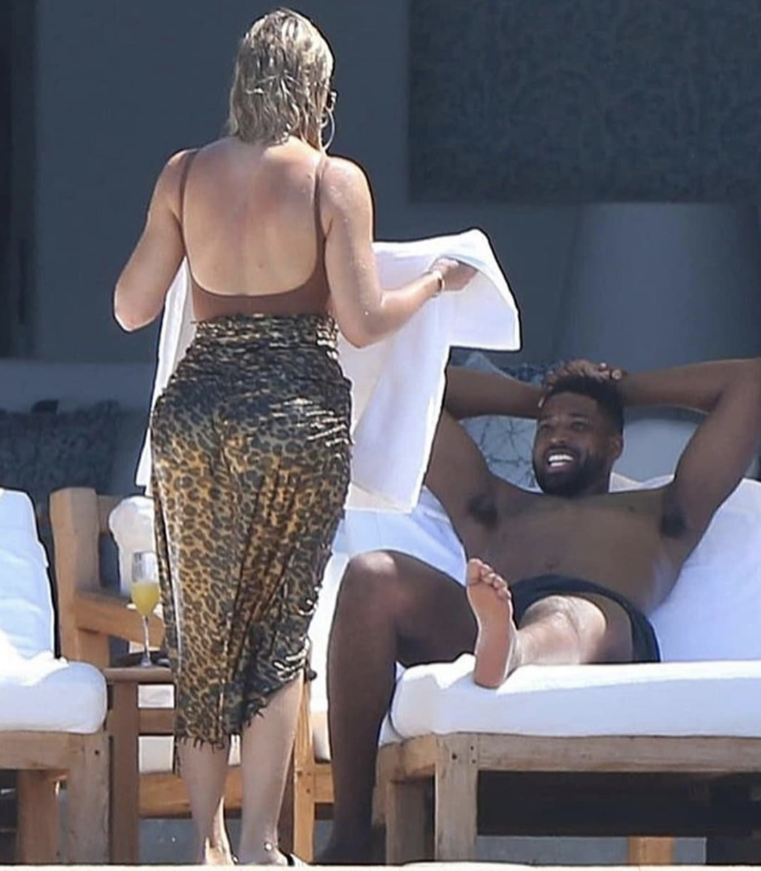 Khloe Kardashian and Tristan Thompson Vacationing in Mexico