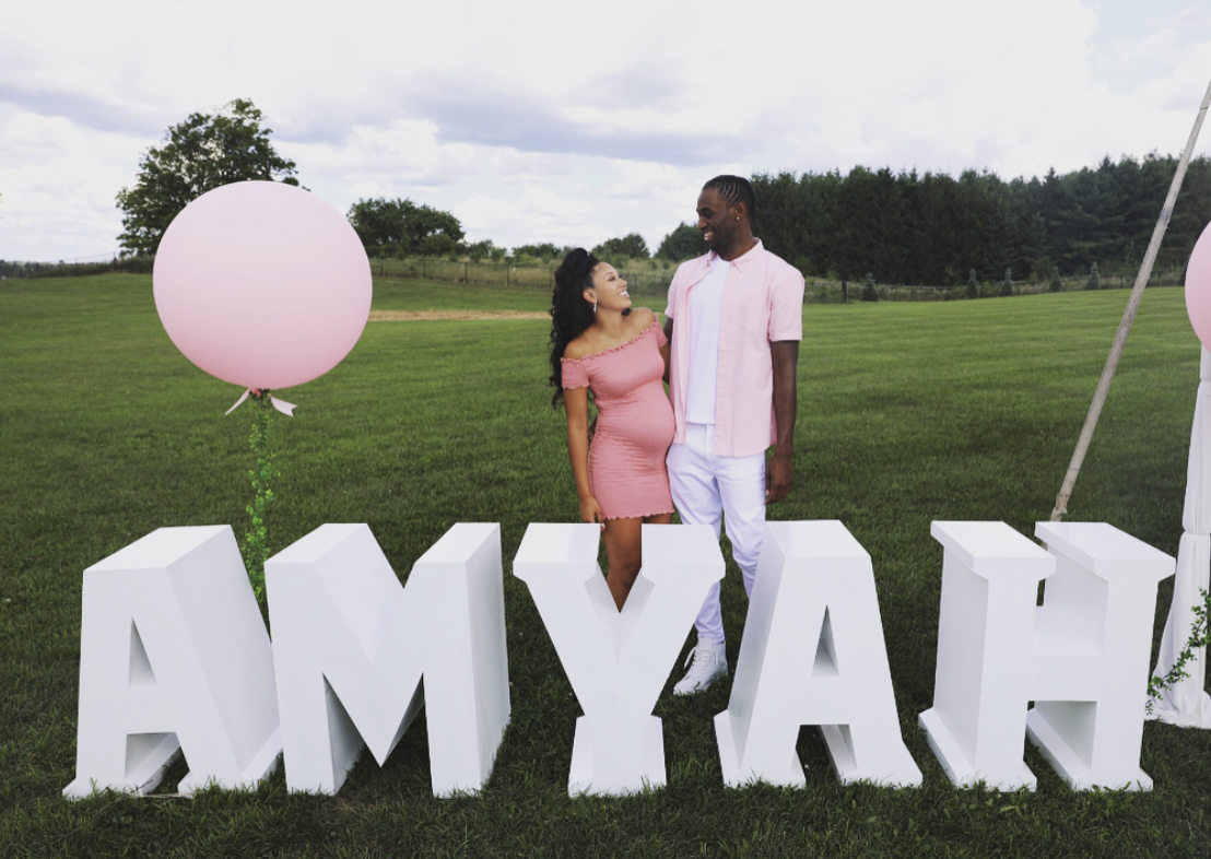 Andrew Wiggins and Girlfriend Have Baby Shower