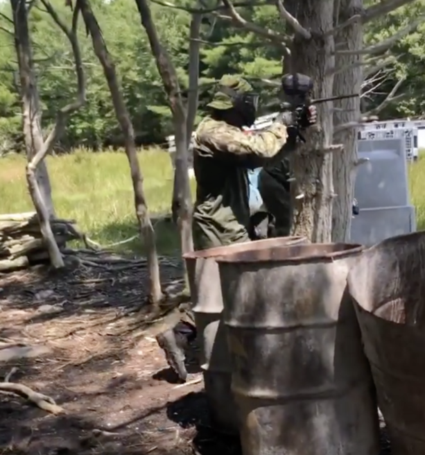 Video- Mike Vick Playing Paintball
