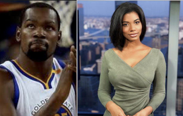 Kevin Durant Being Linked To New Female Anchor