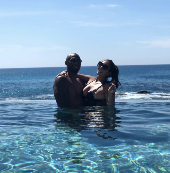 Kobe Bryant and Wife Hit The Pool In Cabo For His 40th Birthday