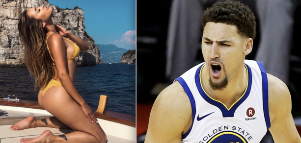 Klay Thompson Living His Best Life In Malibu With IG Models