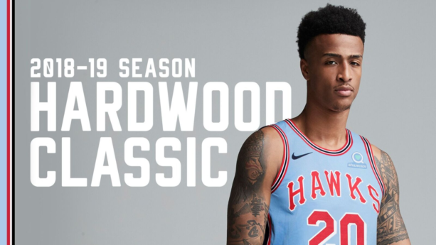 The Hawks Unveiled A New Court And Throwback Uniforms For Their 50th Anniversary Season