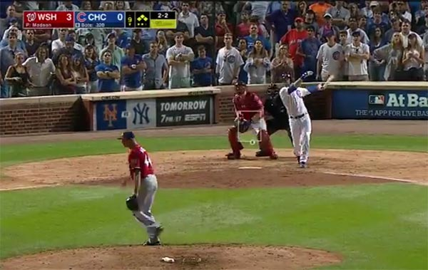 VIDEO: Cubs Rookie David Bote Hit The Golden Home Run