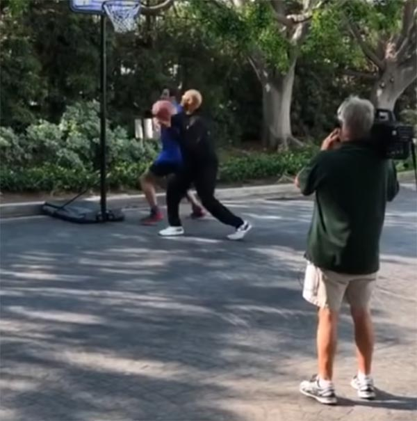 Footage Of LaVar Ball Playing 1-on-1 Crushes Claim He Could Beat Jordan