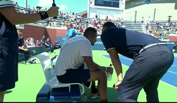 Umpire Pleads With Nick Kyrgios To Take Match Seriously In Bizarre U.S. Open Scene
