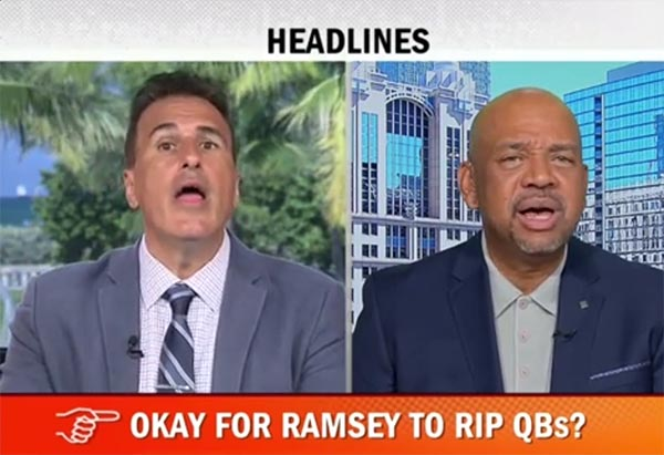 Michael Wilbon Rips Jalen Ramsey For Quarterback Trash Talk
