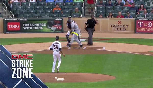 Umpire Shows Off Cat-Like Reflexes By Catching Bat Mid-Flip