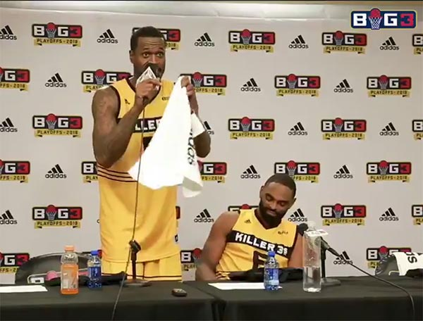 Stephen Jackson Offers To Slap Reporter For Asking Whether Kobe Could Hang In Big3 (VIDEO)
