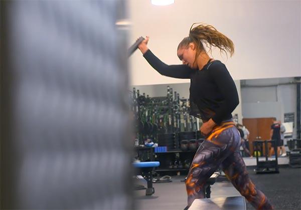 Watch: Ronda Rousey Training Hard For SummerSlam