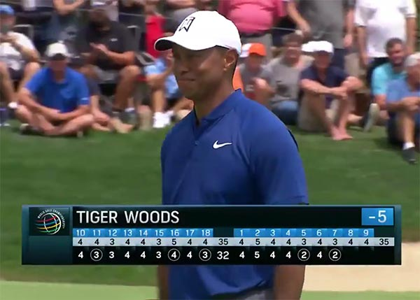 Highlights From Tiger Woods' Opening 66 At WGC-Bridgestone Invitational (VIDEO)