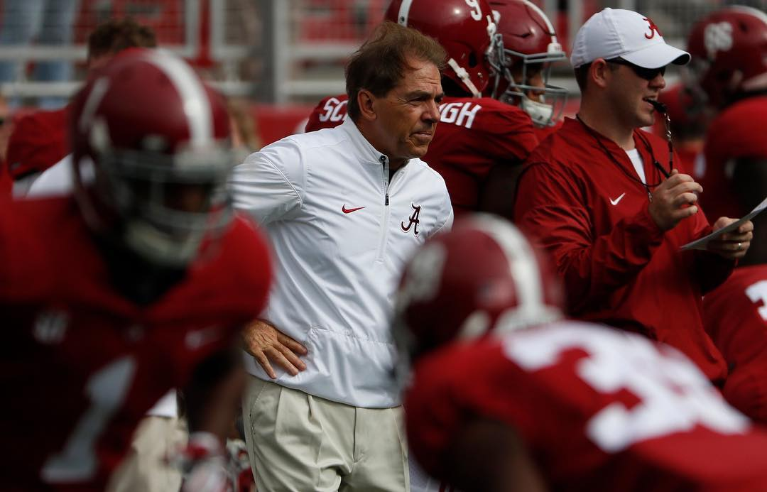Mike Greenberg To Anonymous Coach Calling Nick Saban A Cheater: 'You are a pathetic chicken'