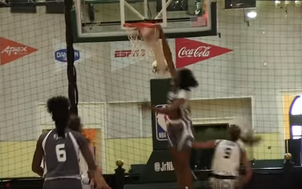 Watch: 14-Year-Old Girl Dunks During Jr NBA Game