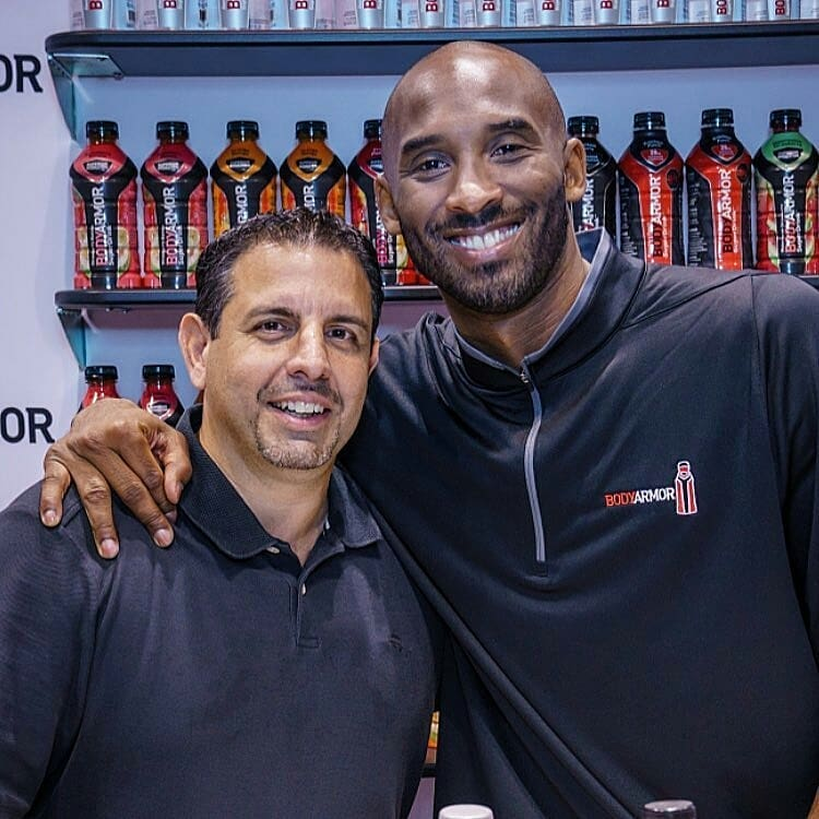 Report: Kobe Bryant's Stake In BodyArmor Drink Now Worth $200 Million
