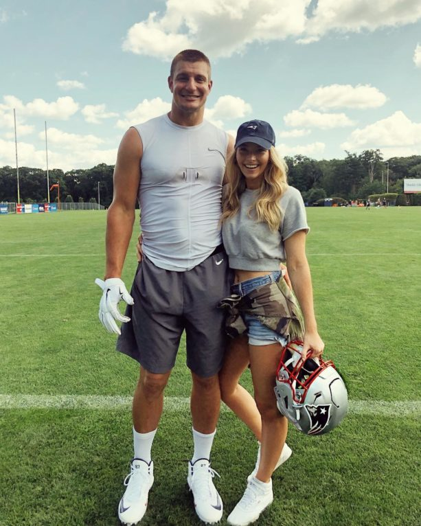 Rob Gronkowski's Girlfriend Fires Back At Jalen Ramsey (VIDEO)
