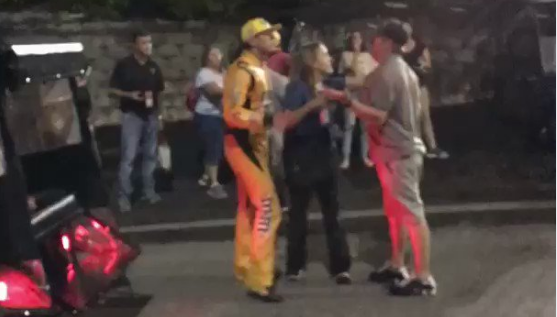 Fan Tries To Fight Kyle Busch During Post-Race Altercation (VIDEO)