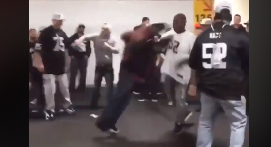 Oakland Raiders Fans Fighting Each Other During Preseason Game (VIDEO)