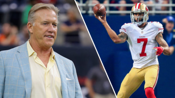 John Elway Says Colin Kaepernick 'had his chance' With Broncos