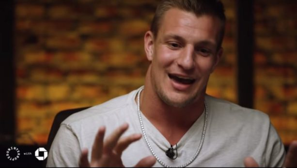WATCH: Rob Gronkowski Says His First Luxury Buy Was A Chain: 'I love this puppy'