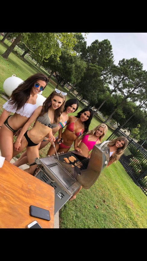 The Texans Cheerleaders Held Their 2nd Annual Picnic Pool Party (VIDS & PICS)