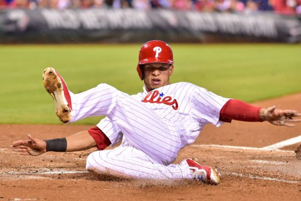 WATCH: Phillies' Cesar Hernandez Gets Home Run On Routine Bunt
