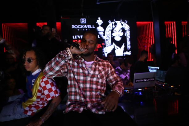 Le'Veon Bell Takes the Stage (at Rockwell Nightclub) and NOT the Field