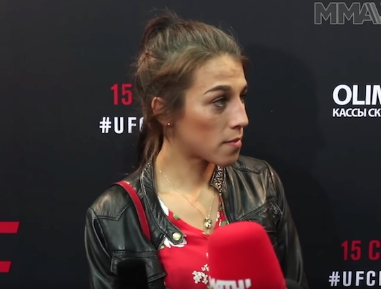 Joanna Jedrzejczyk Makes Example of Russian Reporter After 'Stupid' Conor McGregor Question