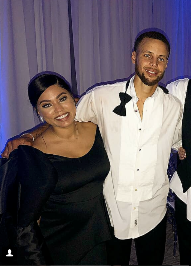 Wedding Pictures- Steph Curry Congratulates His Sister Sydel On Getting Married