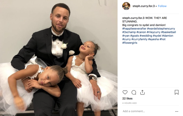 Wedding Pictures Steph Curry Congratulates His Sister Sydel On Getting Married Terez Owens 1 Sports Gossip Blog In The World