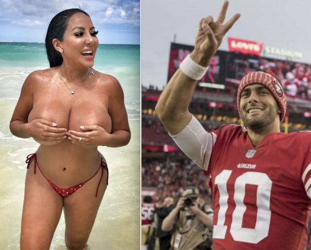 Lets Check In On Jimmy Garoppolo's Porn Star Kiara Mia