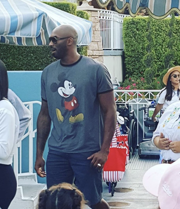 Video- Kobe Bryant and Family Spotted At Disneyland Again
