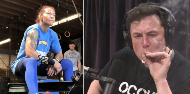 Cris Cyborg Calls Out Elon Musk For Smoking Weed On Joe Rogan While Her Tesla Enters Day 40 In The Shop