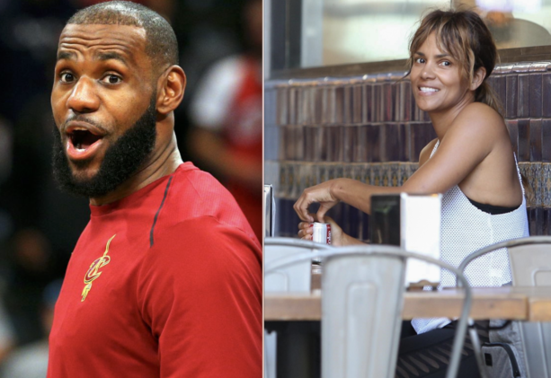 Halle Berry Shoots Her Shot At LeBron James